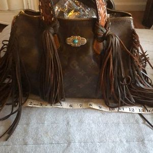 5e8443bf8374 Louis Vuitton Bags - Authentic LV 😍😍Vintage Gypsy Bag Revamped 🎉🎉❤️